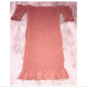 VICI Smocked Dress